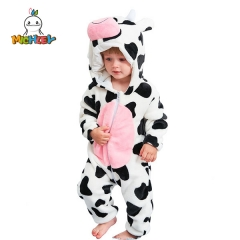 MICHLEY Baby Onesie Costume   Infant Pajamas Winter Outerwear Coat  Winter Autumn Flannel Style Cosplay Clothes