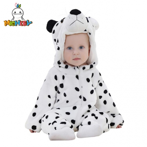 MICHLEY Infant Romper Newborn Unisex Costume for Baby Newborn Outfit Hoodie Winter Baby Outfits Bodysuits