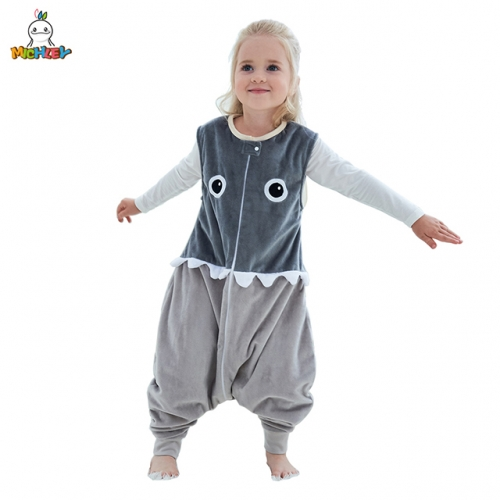 MICHLEY Sleeveless Sleeping Bag for Children, Spring and Autumn Special, Cool and Kick-Proof Nightgown