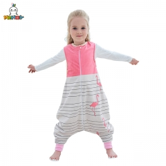 MICHLEY Sleeveless Cartoon Children's Nightwear Spring, Summer and Autumn Universal New Kick-Proof Sleeping Bag